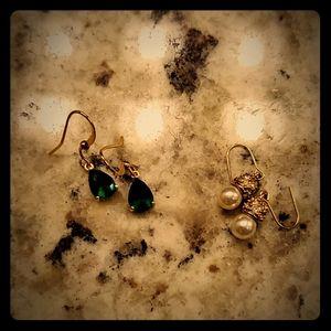 Sterling silver - Pair of earrings